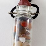 Bottle with 12 Hoshen Gems for Car