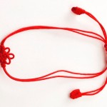 Red String Bracelet Against the Evil Eye for Babies