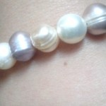 Real Pearl Bracelet Against the Evil Eye