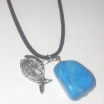 Fish Pendant and Turquoise Stone Against the Evil Eye